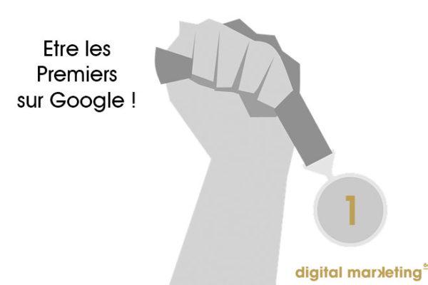 être premiers sur google