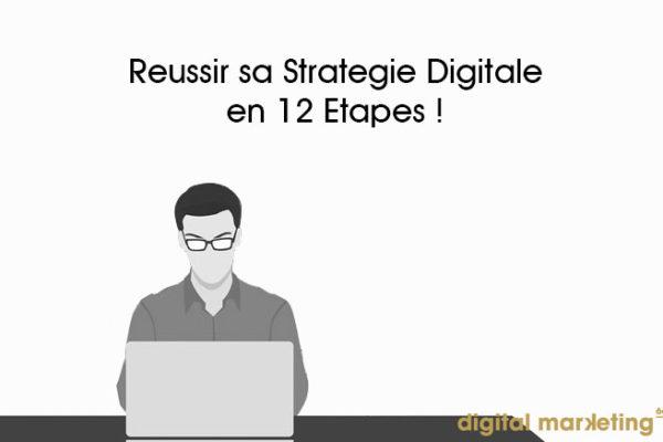 réussir stratégie digitale entreprise