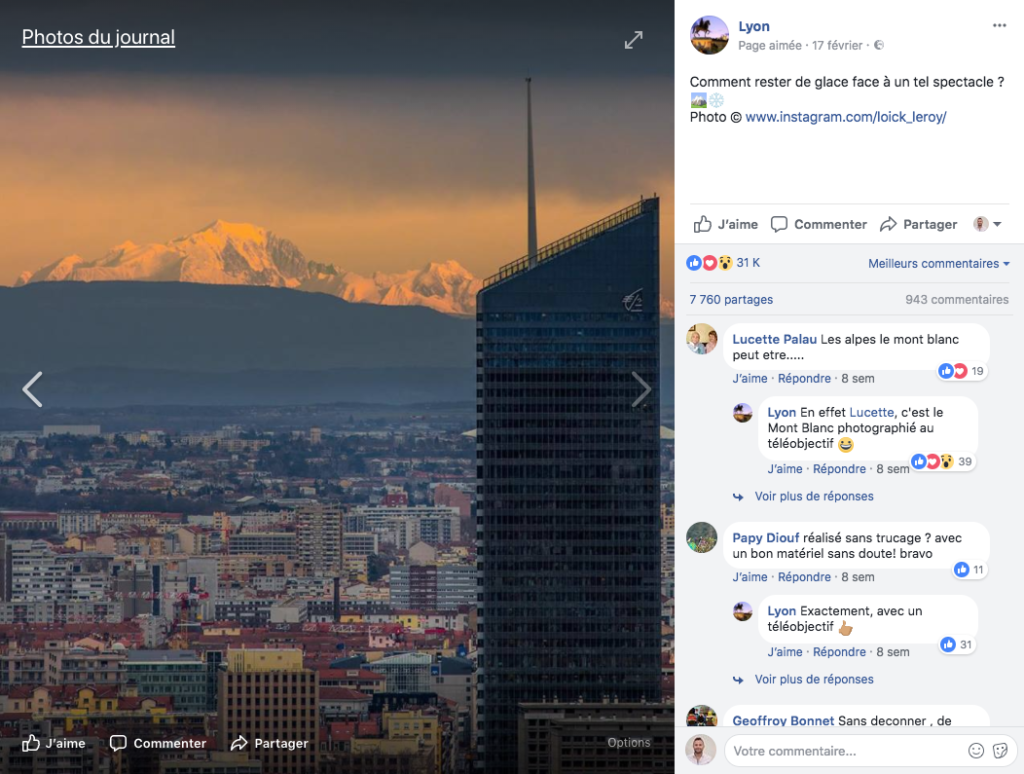 exemple publication facebook réussit 2