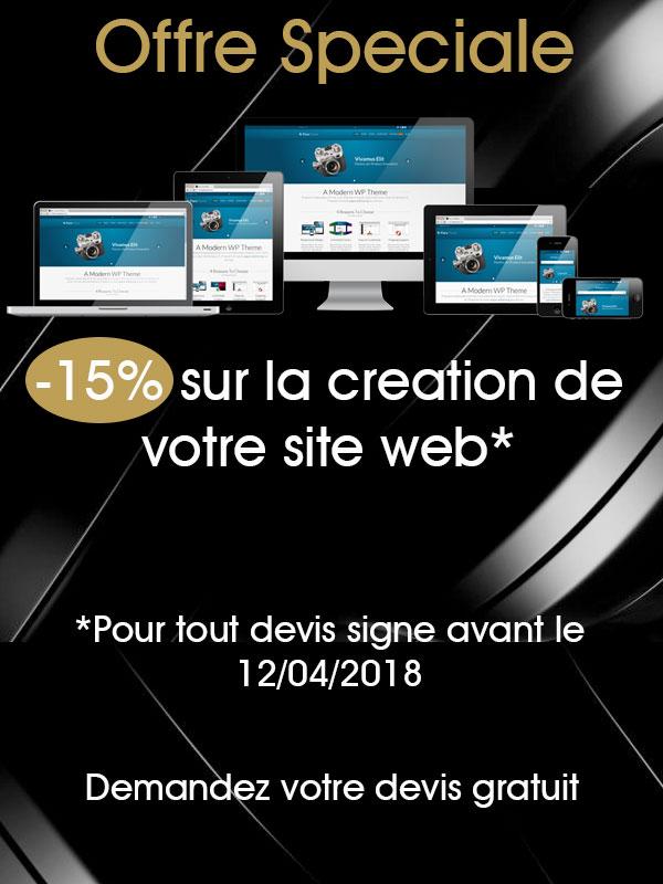 création site web promotion