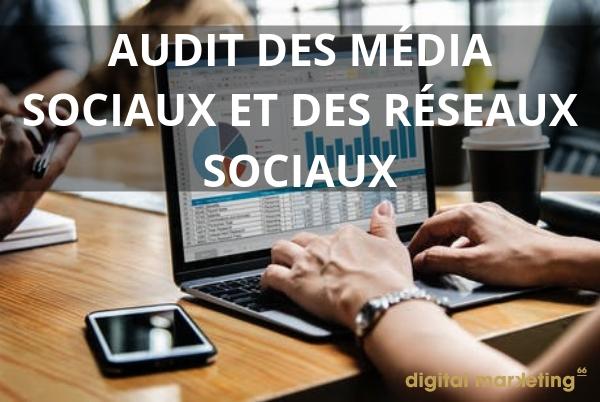 audit media sociaux
