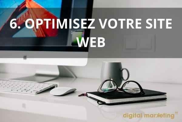 bien referencer site internet optimisez site web