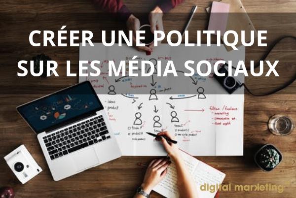 politique media sociaux
