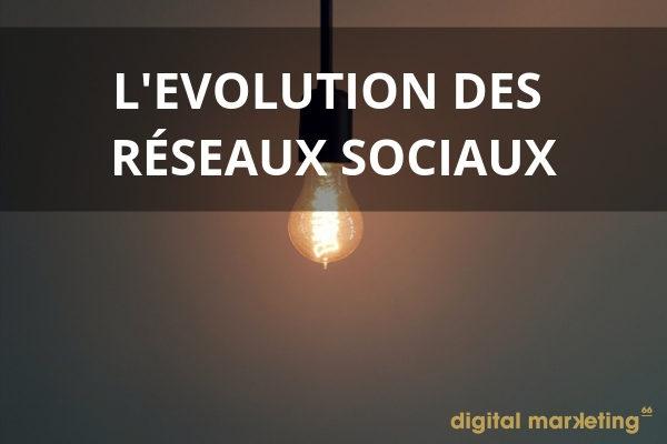 evolution reseaux sociaux 2019