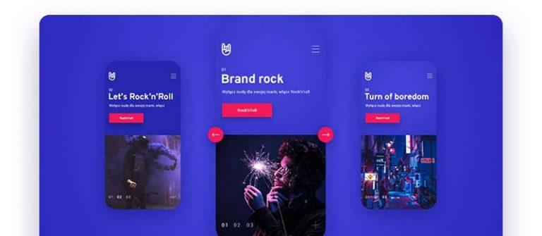 tendances webdesign 2020 semi flat design