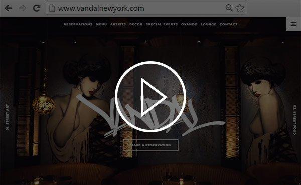tendance creation site internet 2020 vidéo