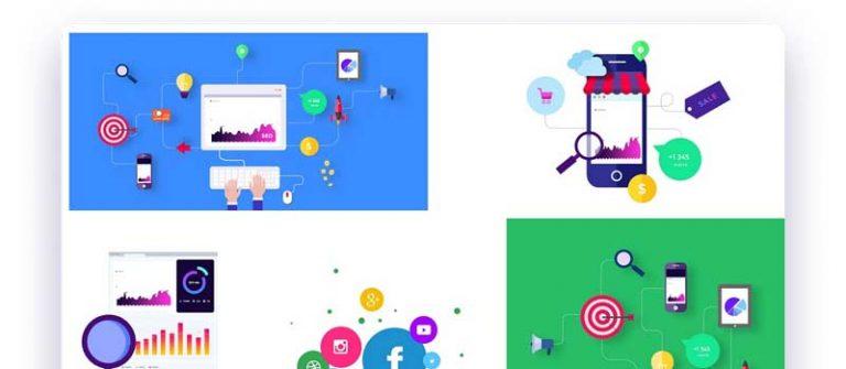 tendance webdesign 2020 image personnalisé