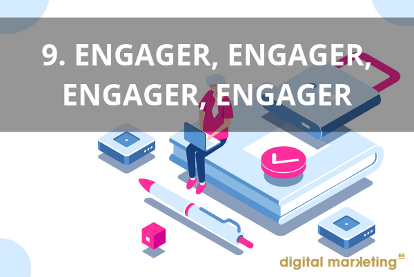 interagir pour developper image marque réseaux sociaux