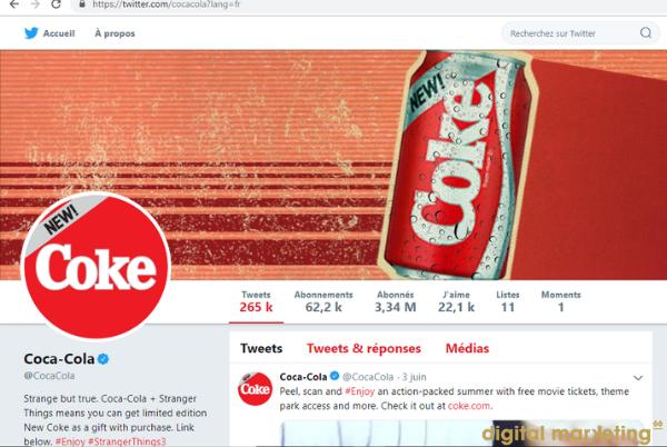 coca cola identité visuelle