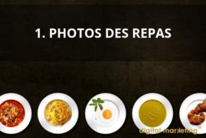 Photo des repas