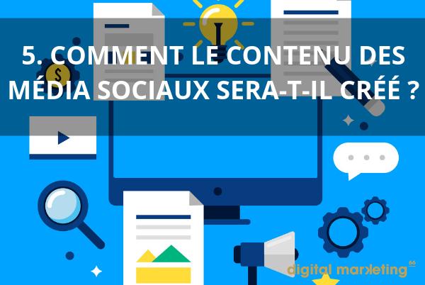 community manager contenu média sociaux