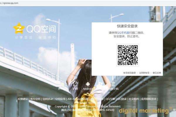réseau-social-qzone-entreprise