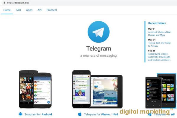 réseau-social-telegram-entreprise