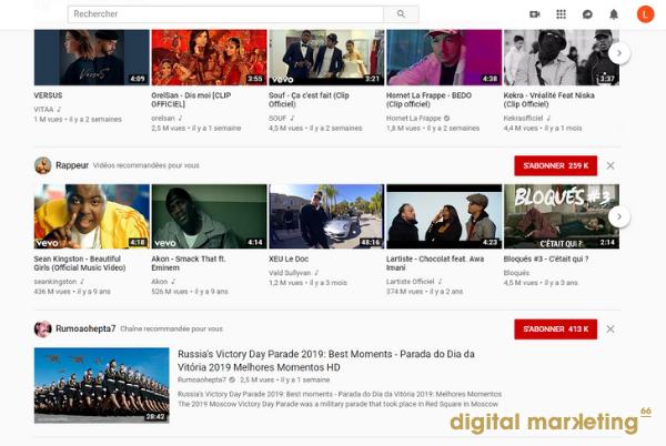 choisir youtube entreprise