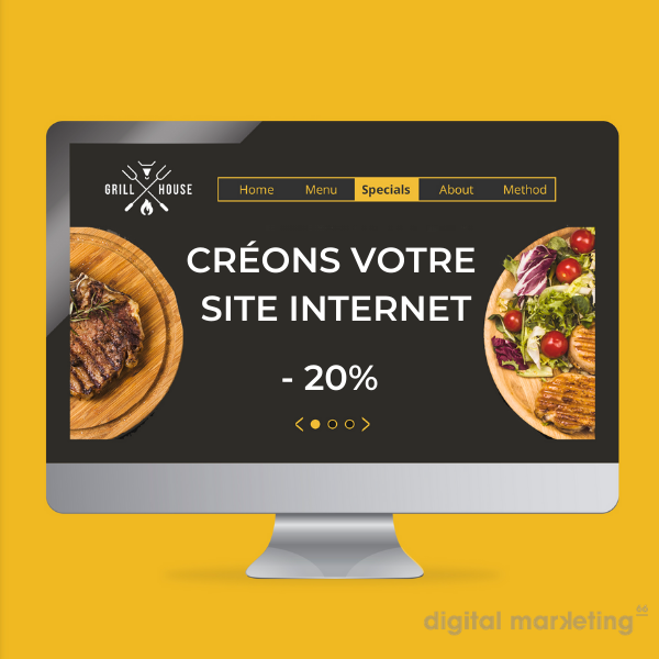 creation site internet promotion remise