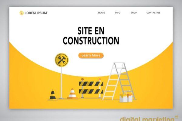 créer site internet qui fonctionne